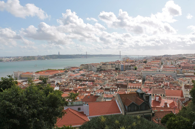 Picture of Lisbon from top