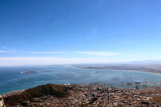 Picture of Cape Town from Table Mountain