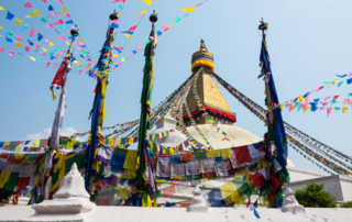 Bodhnatu in Kathmandu, Nepal
