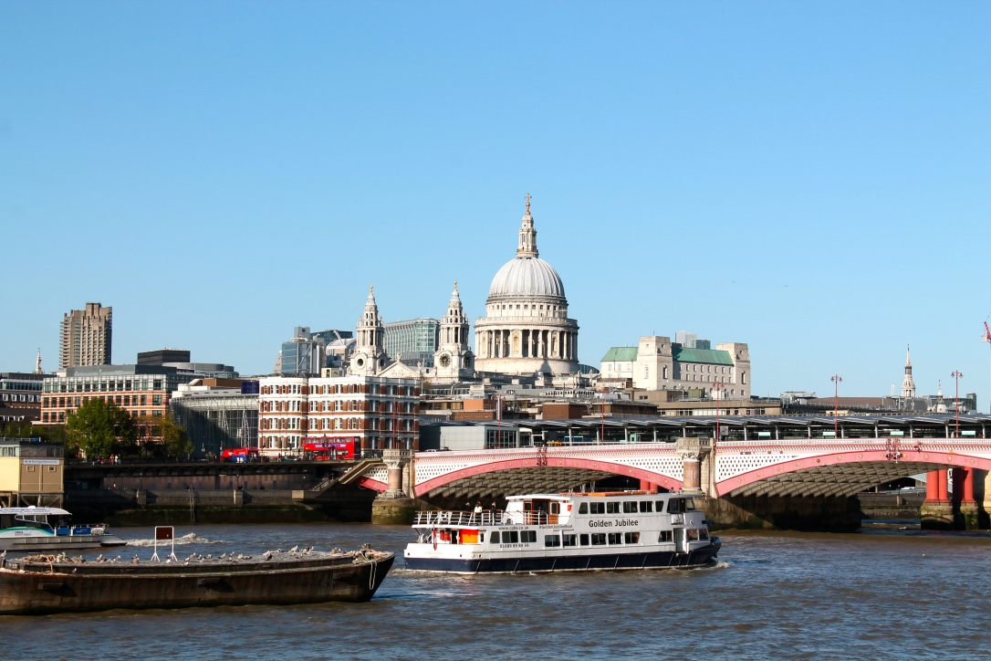 London from Thames
