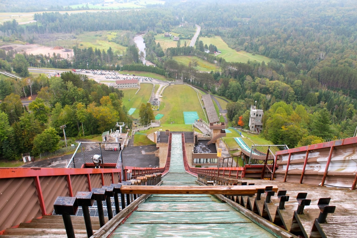 VIew from Ski Jump Lake Placid