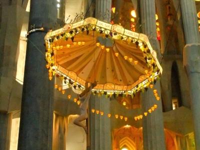 The Sagrada Familia Chandelier