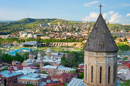 Tbilisi cityscape. Georgia